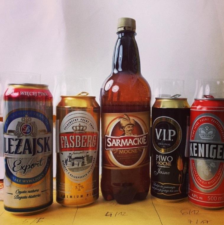 piwo z Biedronki