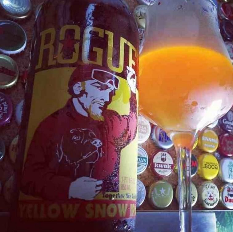 Yellow Snow IPA z Rogue