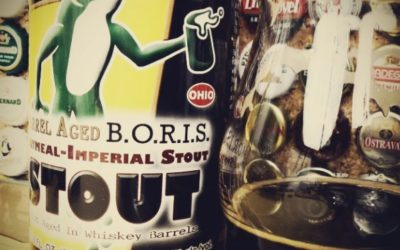 Barrel Aged B.O.R.I.S. z Hoppin' Frog