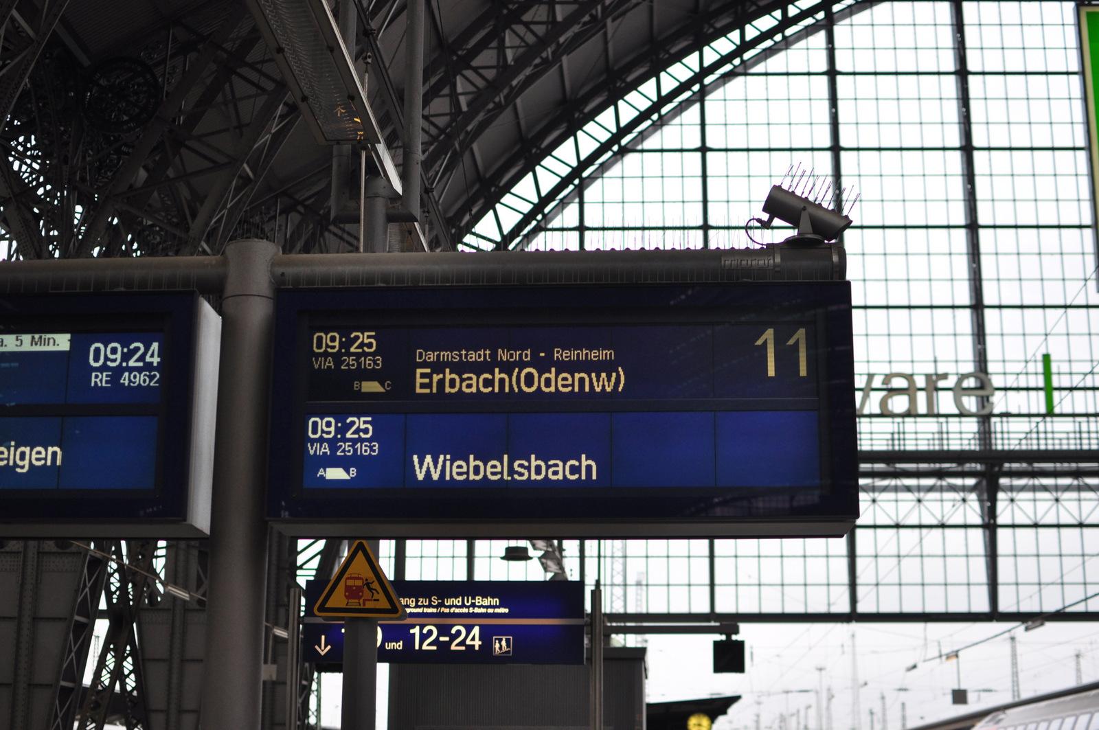 Frankfurt, jedziemy do Odenwaldu
