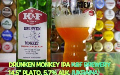 Drunken Monkey IPA z K&F Brewery