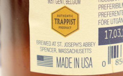 Spencer Trappist Ale made in USA