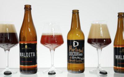 Portugal Barley Wine z Doctor Brew feat. Maldita